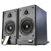 Caixa de Som Microlab Solo 5C 80W Controle Remoto HI-FI Monitor de Audio