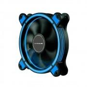 Cooler 120mm Led Ring Pc Gamer Fan Gabinete Mymax Spectrum Azul