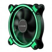 Cooler 120mm Led Ring Pc Gamer Fan Gabinete Mymax Spectrum Verde