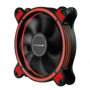 Fan Cooler Gamer 120mm Mymax Spectrum Led Vermelho Para Pc Gabinete
