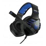 Fone de Ouvido Gamer Headset Onikuma K17 PS4/Xboxone/PC Com Led Azul