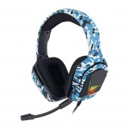 Fone de Ouvido Headset Gamer Havit H653d Azul