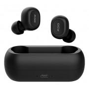 Fone de Ouvido Sem Fio Bluetooth 5.0 QCY T1 Com Case Carregador Preto