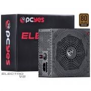 Fonte ATX 650W 80 Plus Bronze Electro V2 80 Pcyes