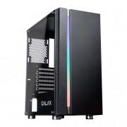 Gabinete Gamer Galax Quasar RGB, Mid Tower GX600 Preto