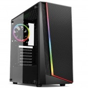 Gabinete Gamer Mymax Lion Mid Tower Com Cooler ARGB USB 3.0