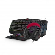 Kit Gamer Teclado Mouse Headset e Mousepad Havit