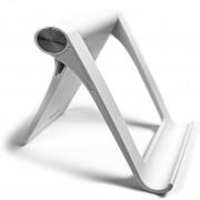 Suporte de Mesa para Celular Ajustável Compacto Rock Branco