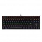 Teclado Gamer Mecânico Havit KB435L RGB Switch Blue