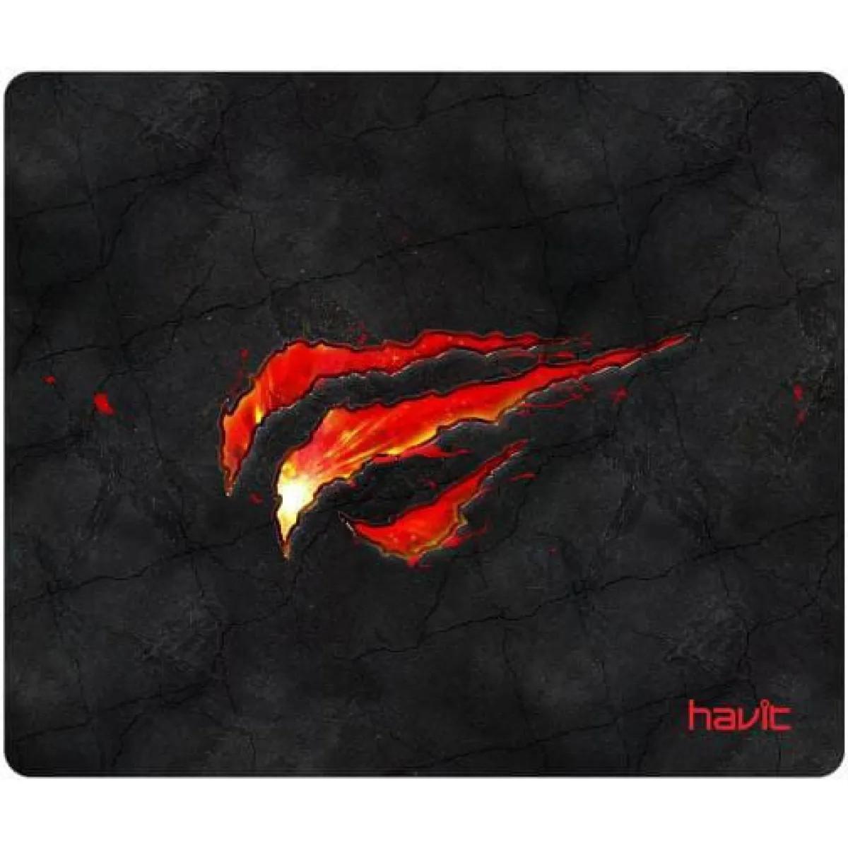 Mousepad Gamer Havit MP837 25x20cm Reforçado Anti-Derrapante e Respingo