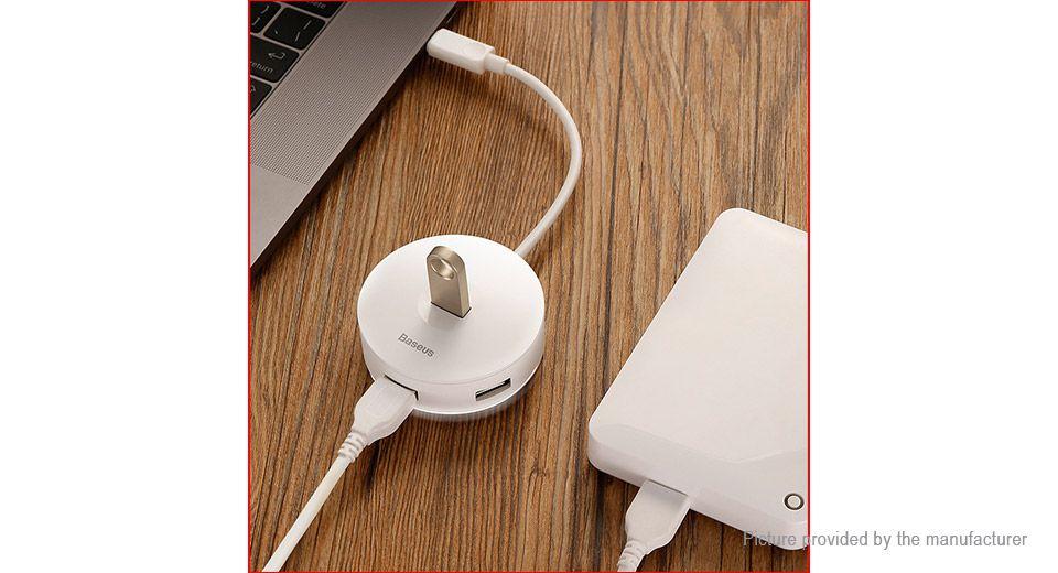 Adaptador Hub Usb Tipo C Macbook Pro - Air USB 3.1 Branco