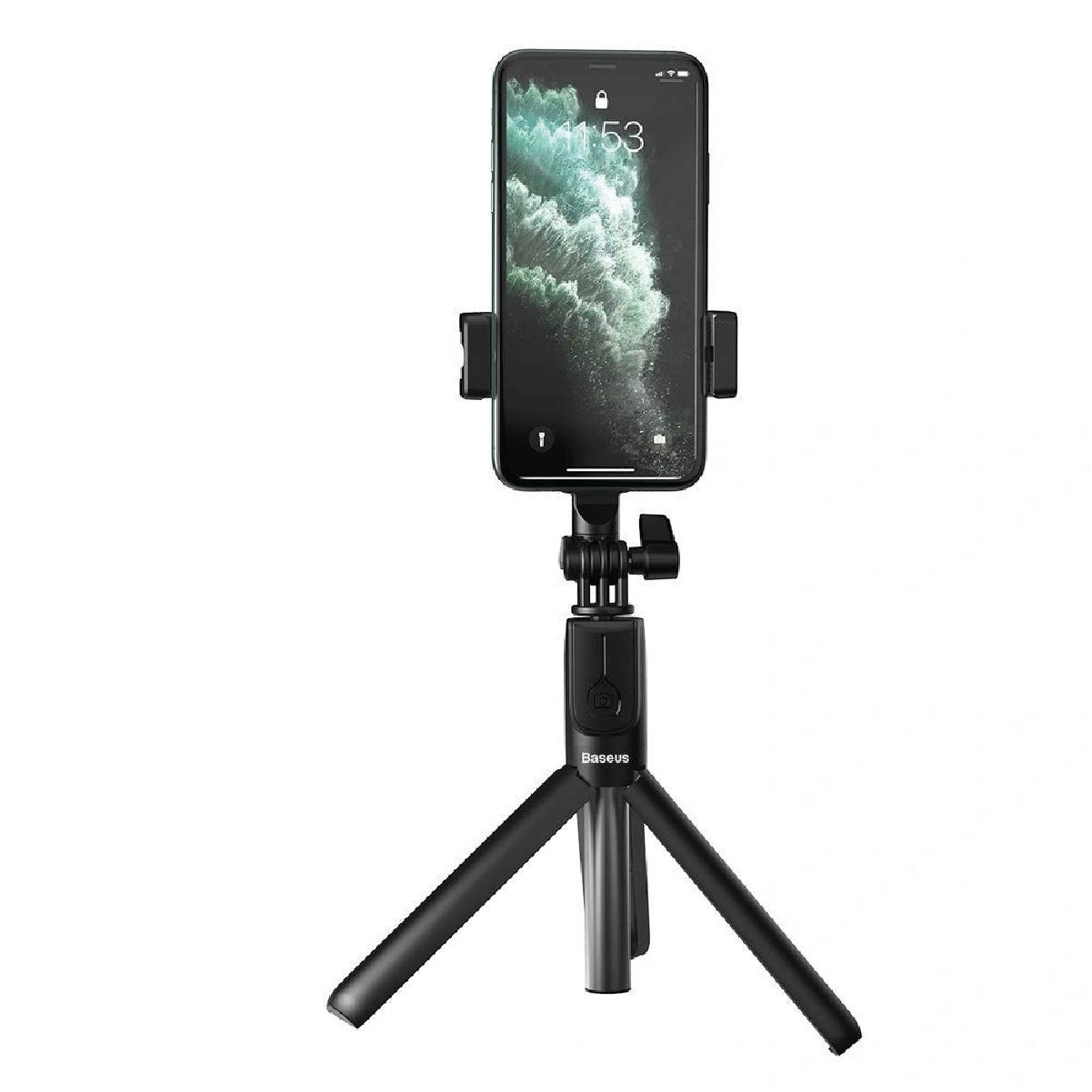 Bastao de Selfie Baseus Lovely Bluetooth Preto (Ref. SUDYZP-F01)