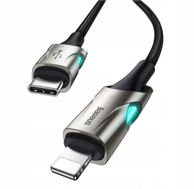 Cabo Usb Tipo-c Para Iphone Turbo Pd 18w 1m Zinco Baseus Legitimo