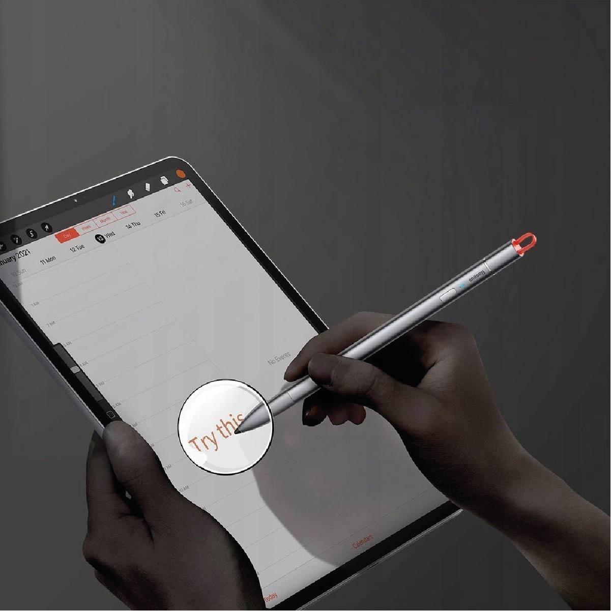 Caneta Ativa Capacitiva Stylus Touch Pen Baseus
