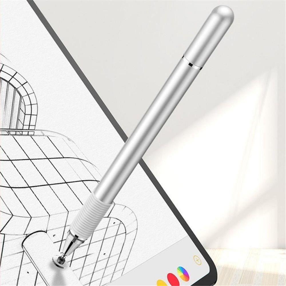 Caneta Capacitiva Pencil Touch iPad Pro Baseus 2 Em 1 Prata