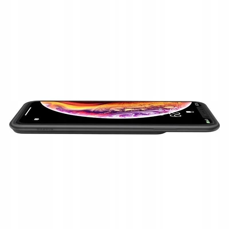 """Capa Carregadora Para iPhone Xs Max/Xs Com 4200 Mah Baseu 6,5"""""""