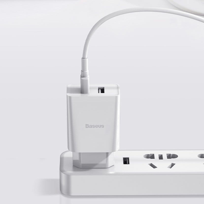 Carregador Duplo USB Baseus Speed Mini 10.5W para Iphone