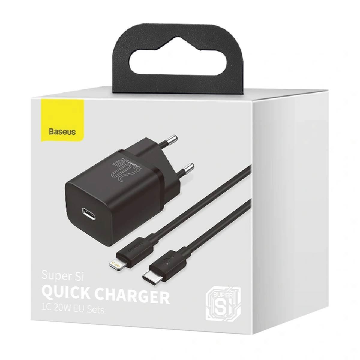 Carregador Para Iphone Tipo-C PD 20w Quick Charger Super Si