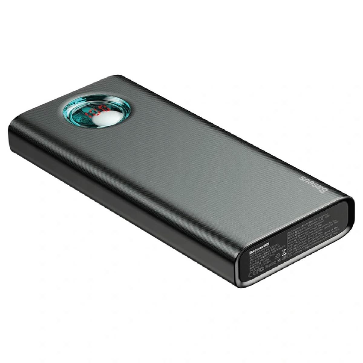 Carregador Portátil Baseus Ambilight Powerbank 20000mAh QC 3.0 PD USBC