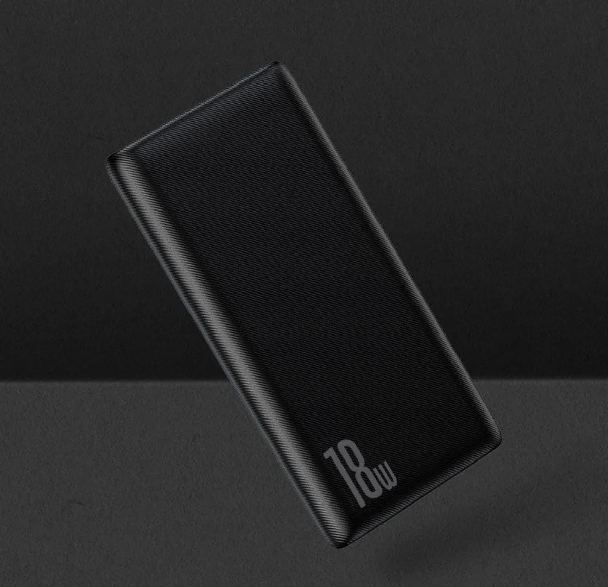 Carregador Portátil Baseus Power bank Bipow 10000mAh PD+QC 18w Preto