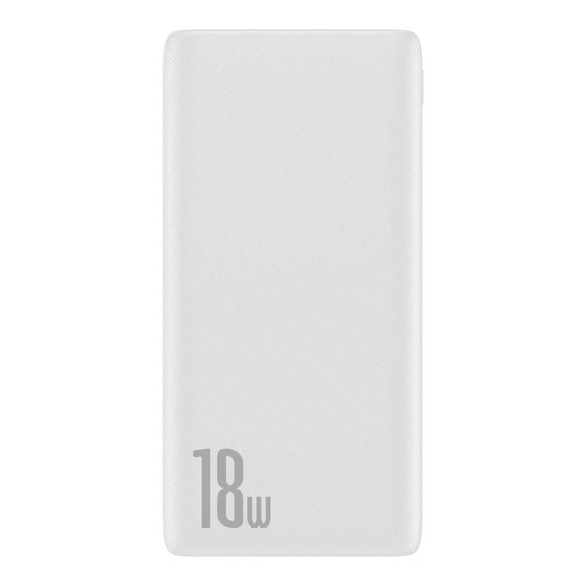 Carregador Portátil Baseus Power bank Bipow 10000mAh PD+QC 18w Branco