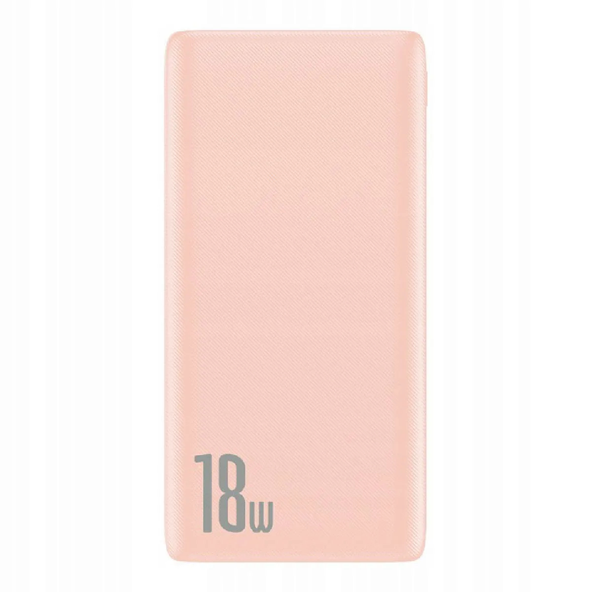 Carregador Portátil Baseus Power bank Bipow 10000mAh PD+QC 18w Rosa