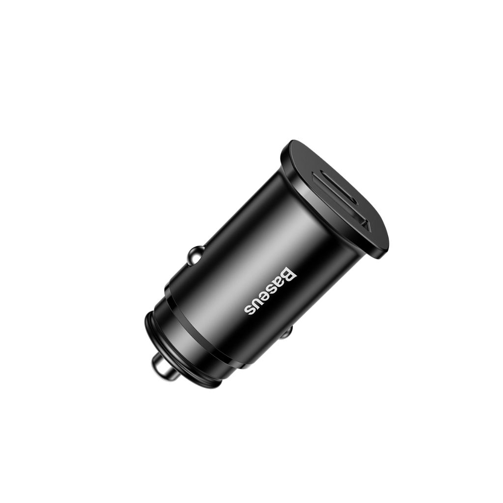 CARREGADOR VEICULAR TURBO PARA iPHONE 8 XR XS MAX Baseus 30W