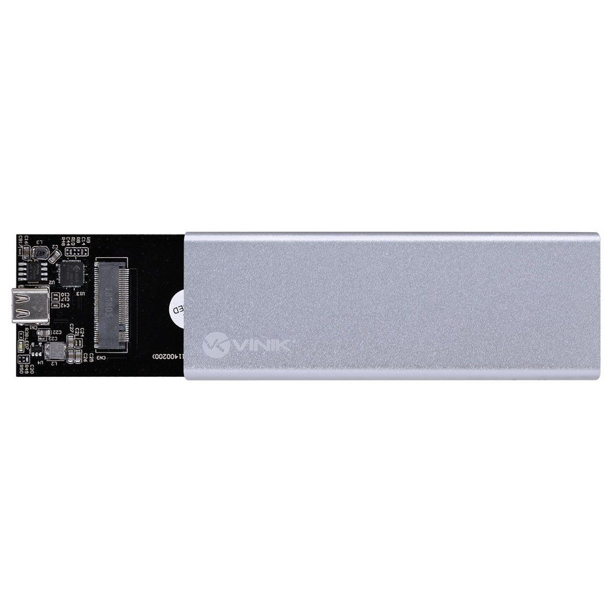 Case para SSD M2 USB 3.1 Tipo C 10Gpbs - Vinik CS25-C31