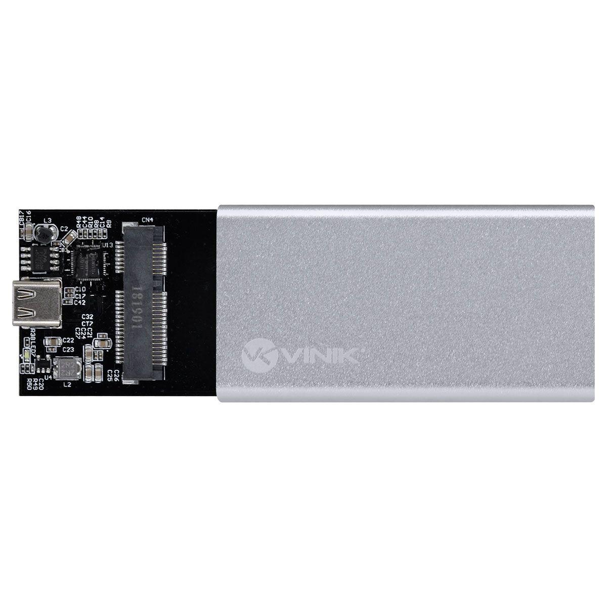 Case para SSD mSATA USB 3.1 Tipo C 10Gpbs - Vinik CS25-A31