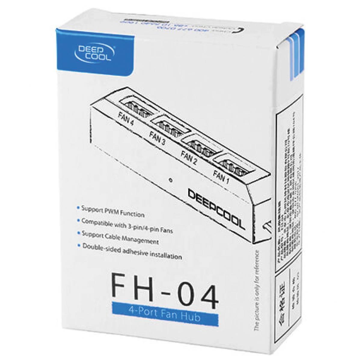 Controlador de Fan Hub Deepcool FH-04 PWM DP-F04PWM-HUB