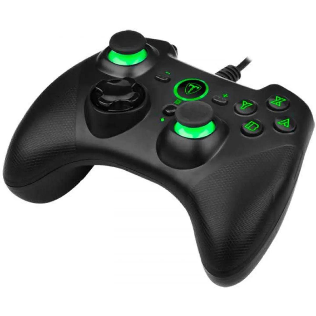 Controle Gamepad T Dagger Joystick Taurus T-TGP501 Pc Ps3 Switch