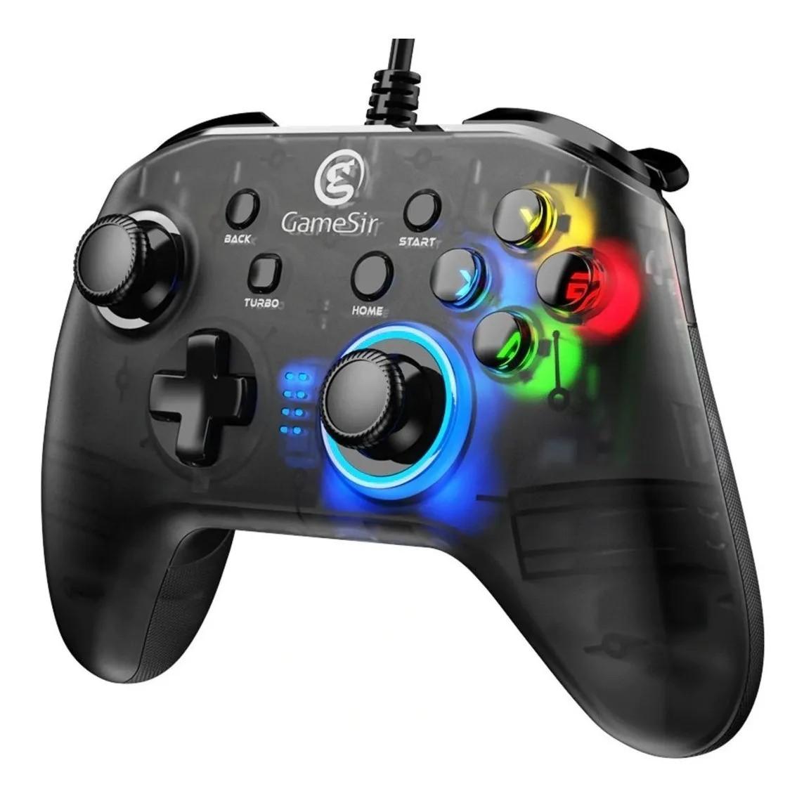 Controle Gamesir T4w Para PC Com Fio Usb E Vibração Windows 7/8/9/10