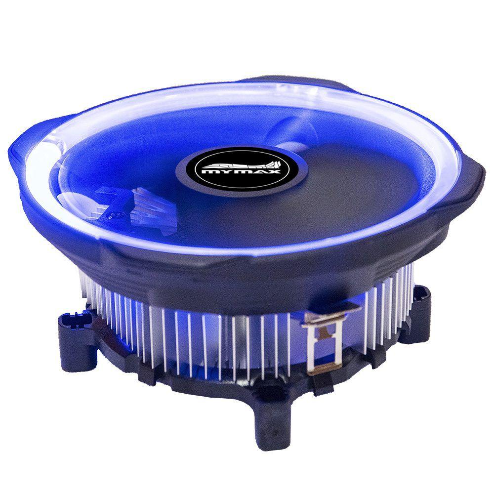 Cooler Cpu Led Azul Intel Amd 115x Am3 Fm775 i3 i5 i7