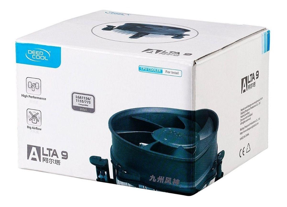 Cooler Deepcool Alta 9 Intel  i7/i5/i3/Dual Core/Pentium