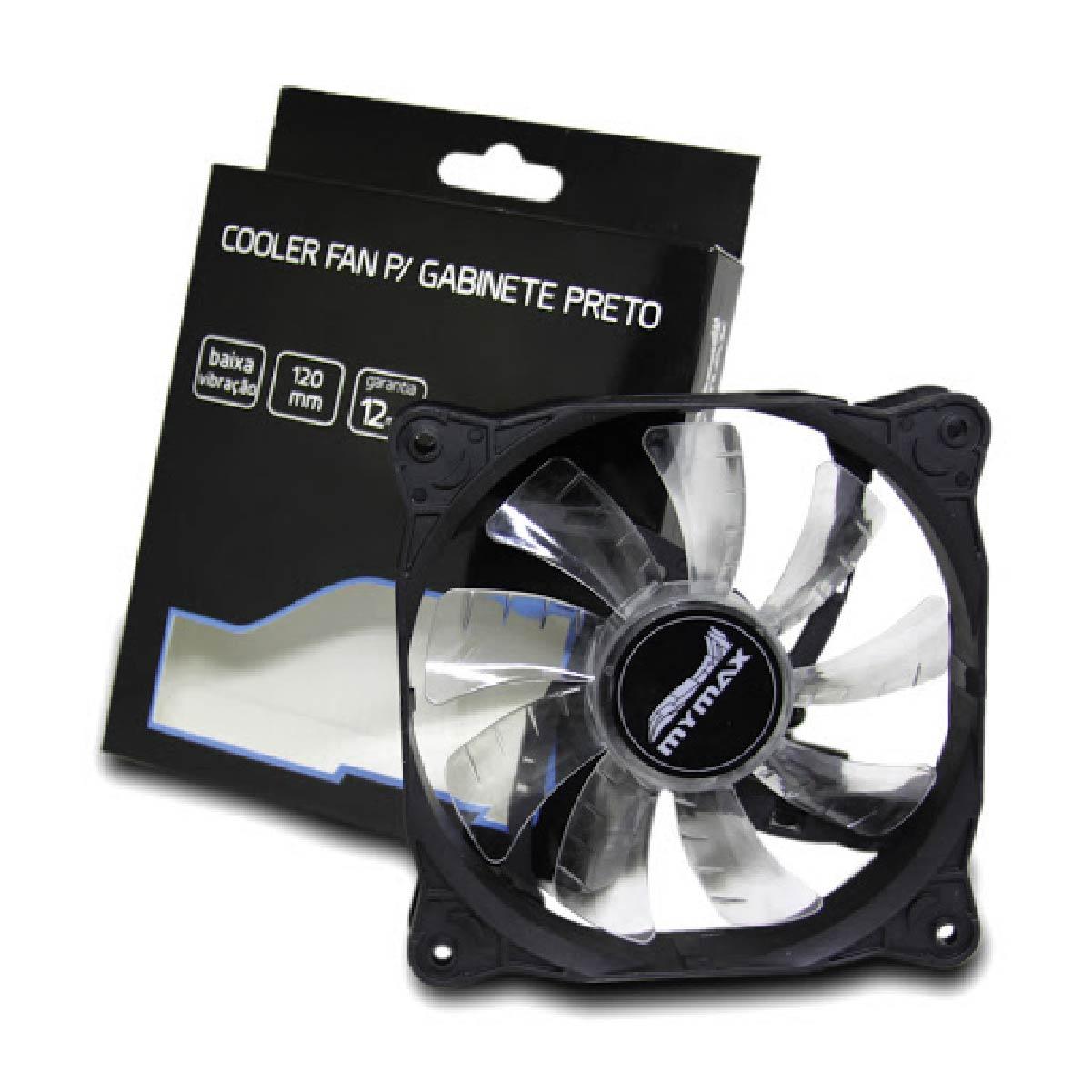 Cooler Fan 120mm 33 Led Branco Storm Gamer