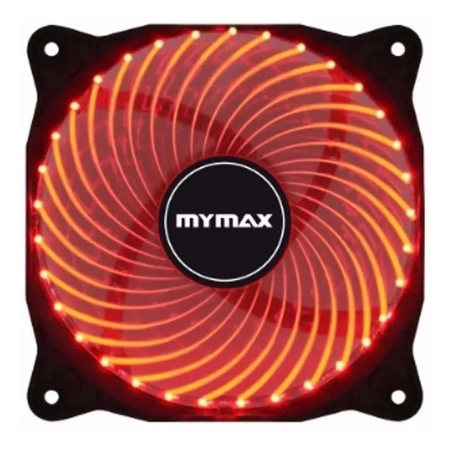 Cooler Fan 120mm 33 Led Vermelho Storm Gamer