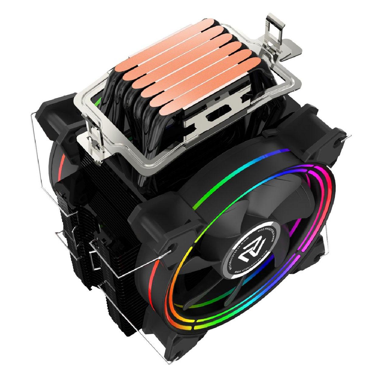 Cooler Para Processador Alseye H120D V2 AMD/INTEL S-RGB