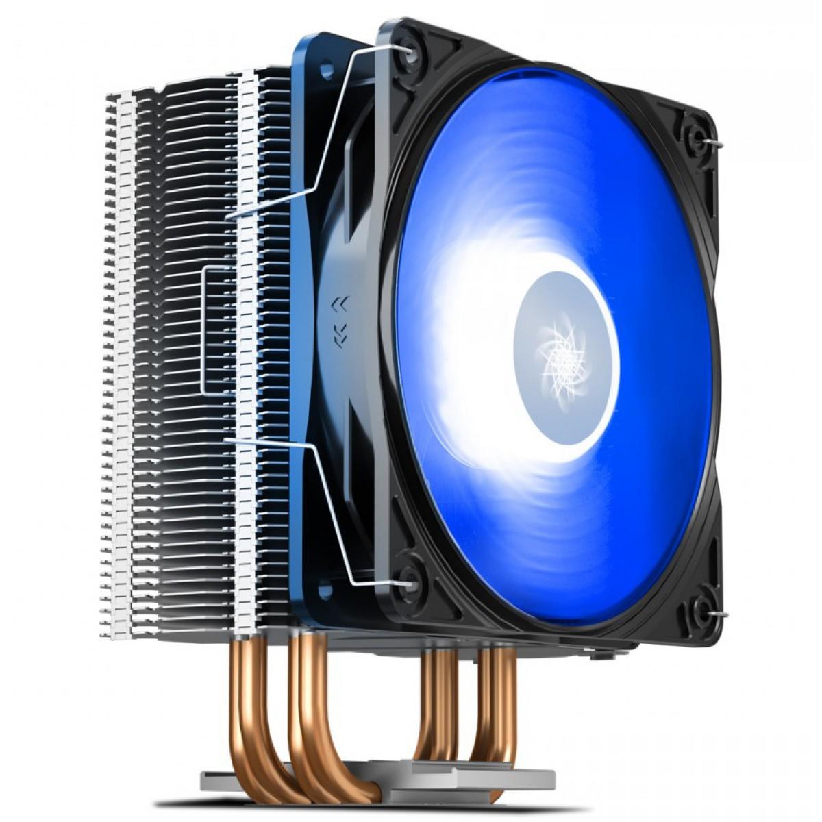 Cooler Para Processador Deepcool Gammaxx 400 V2 Intel Amd Led Azul