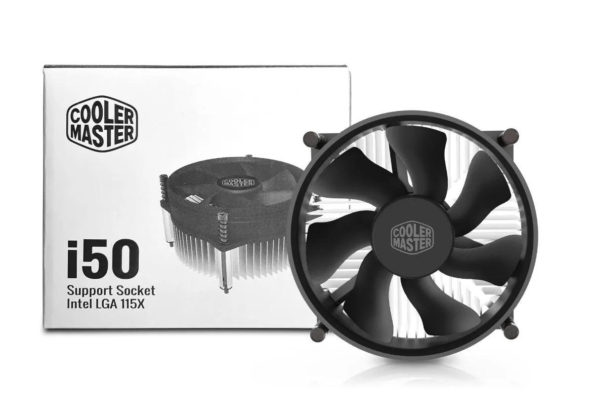 Cooler Para Processador Master Intel 115x i50 Para Cpu Lga 1150/1151/1155/1156