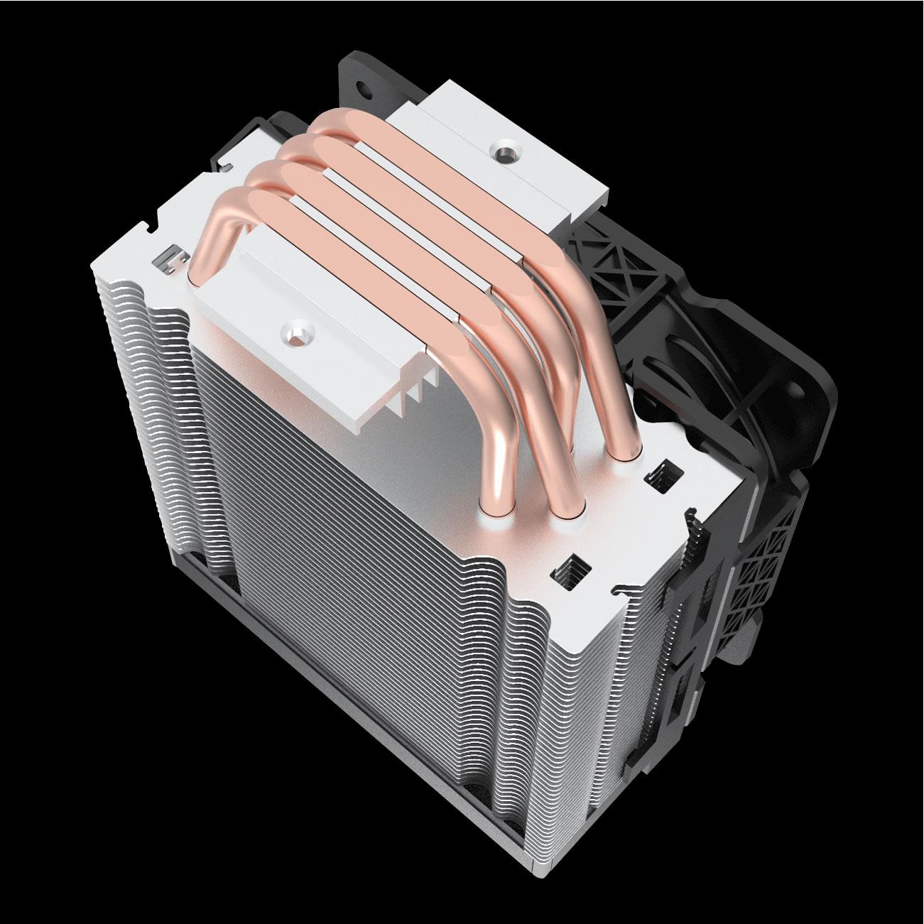 Cooler Para Processador Redragon Effect RGB 120mm TDP 135W Preto