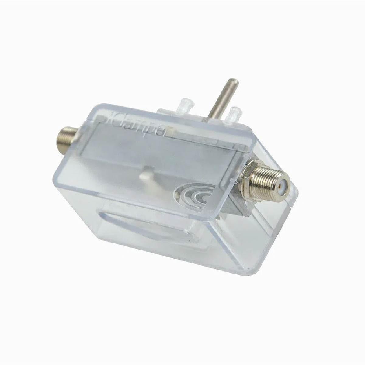Filtro de Linha Clamper DPS Proteção Para Cabos TV/Modems/Antenas/Parabólicas