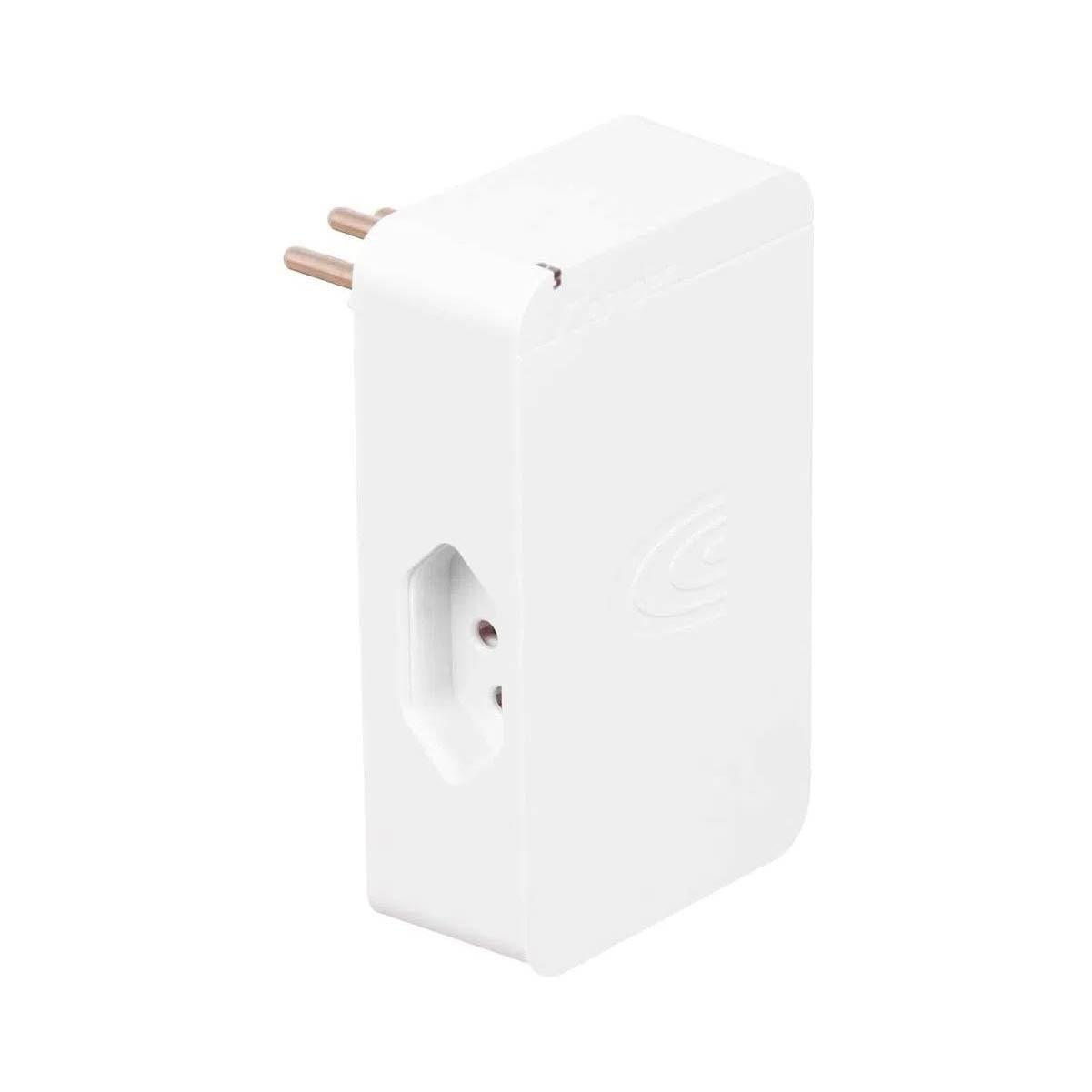 Filtro de Linha iClamper Energia 3 Protetor Contra Surtos e Raios Branco