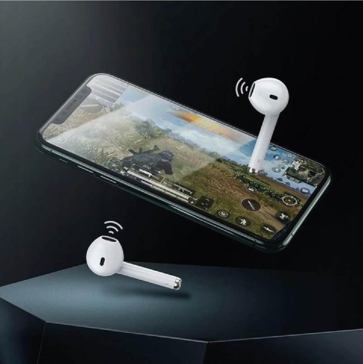 Fone de Ouvido Baseus Encok W04 Pro TWS Bluetooth 5.0 Touch -  Branco