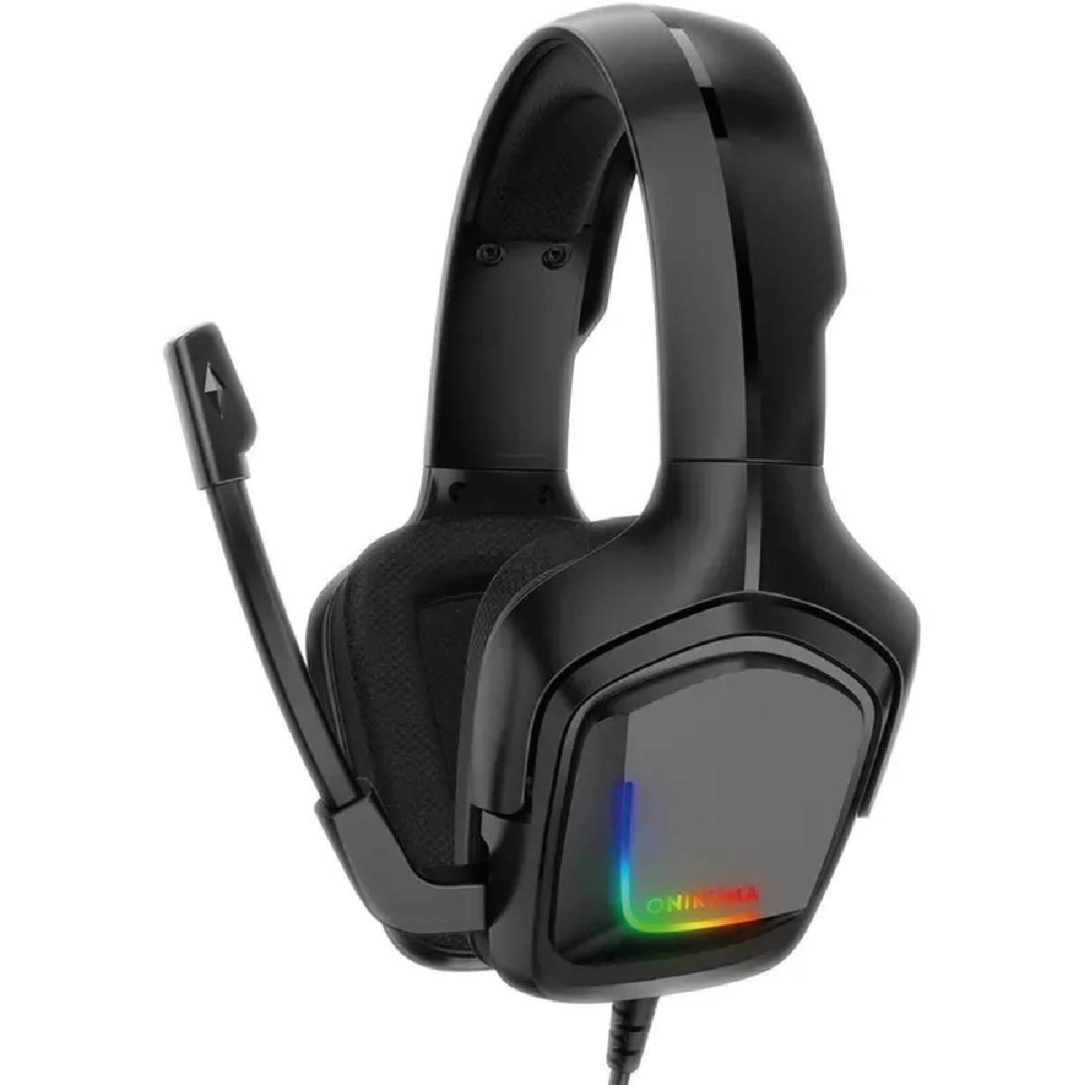 Fone de Ouvido Gamer Headset Onikuma K20 PS4/Xboxone/PC RGB