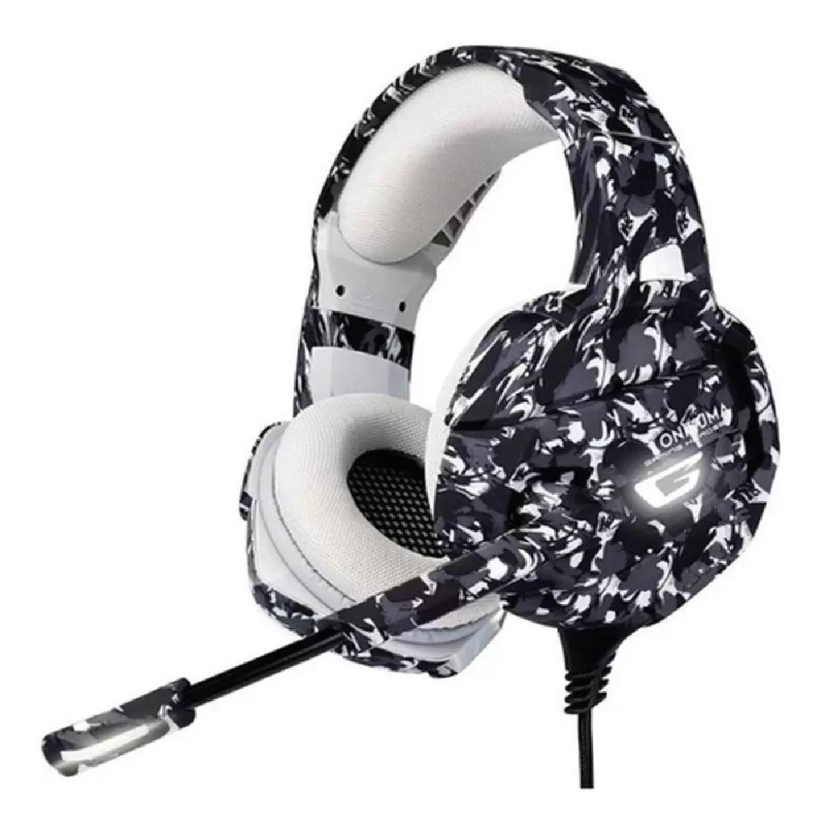 Fone De Ouvido Gamer Headset Onikuma K5 Camuflado