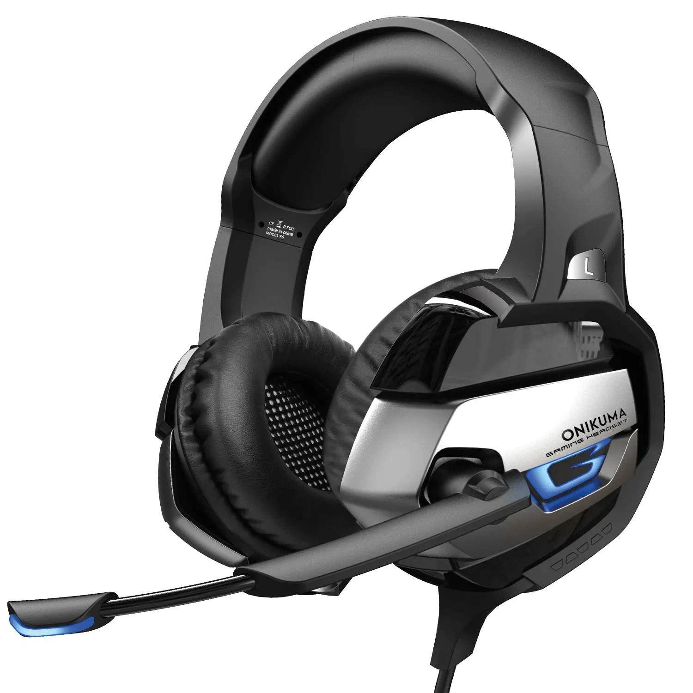Fone De Ouvido Gamer Headset Onikuma K5 Com Led