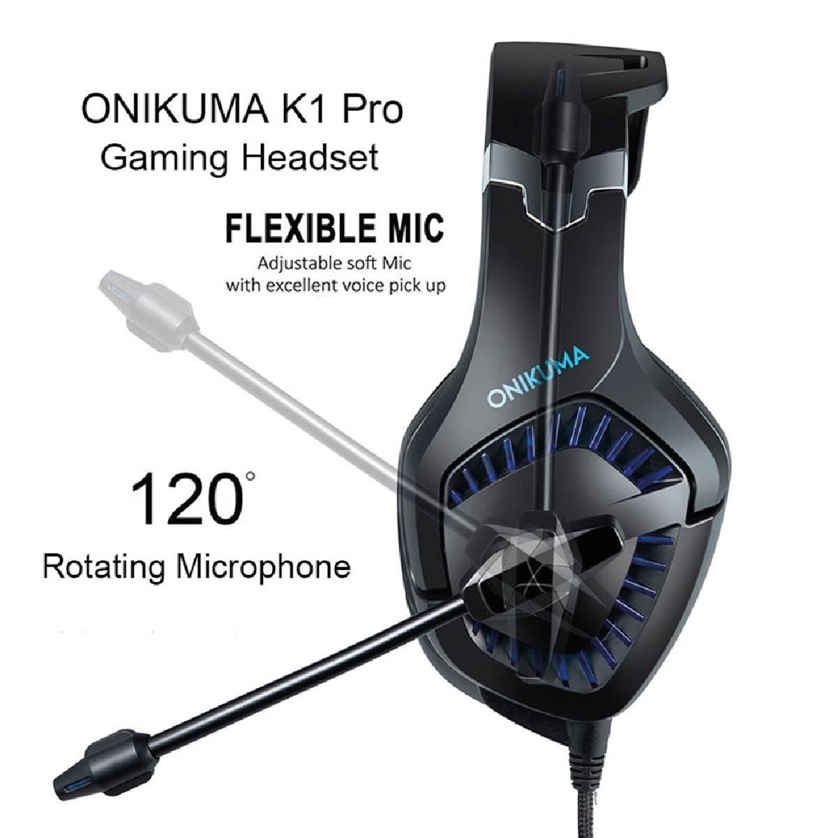 Fone De Ouvido Headset Gamer Onikuma K1-b PRO