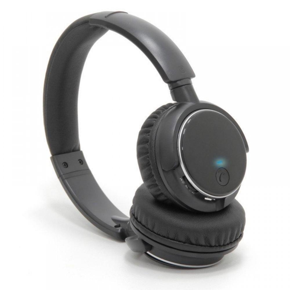 Fone de ouvido K1 / KB1 Headphone Bluetooth Cartão SD Kimaster Preto