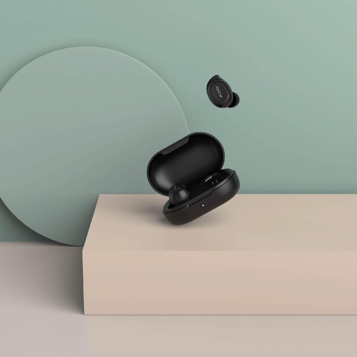 Fone De Ouvido Sem Fio Bluetooth 5.0 QCY T9s TWS Com Case Carregadora