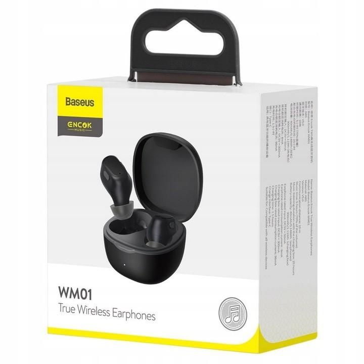 Fones de Ouvido TWS Baseus Wireless Bluetooth 5.0 WM01